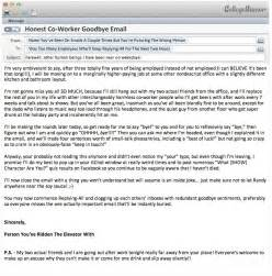Goodbye Emails To Coworkers by If Your Co Worker S Goodbye Email Was Honest Collegehumor Post