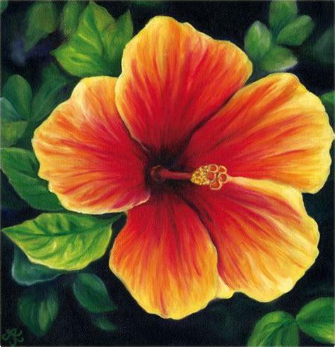 hawaiian flower painting paintings of tropical flowers by keay