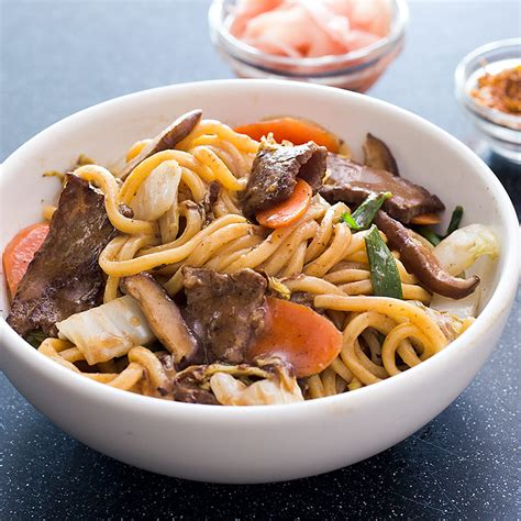 America S Test Kitchen Beef Stir Fry by Japanese Style Stir Fried Noodles With Beef America S