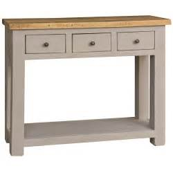 colorado medium 3 drawer console table next day delivery