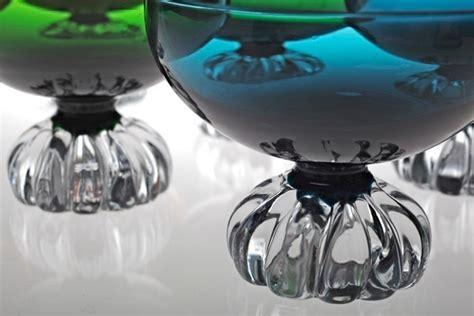 len 60er 70er 6 sektschalen aseda sweden vintage glas 60er 70er jahre