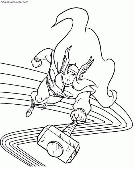 imagenes para colorear wolverine dibujos de thor para colorear