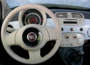 Inside Of Fiat 500 Car Picker Fiat 500 Interior Images