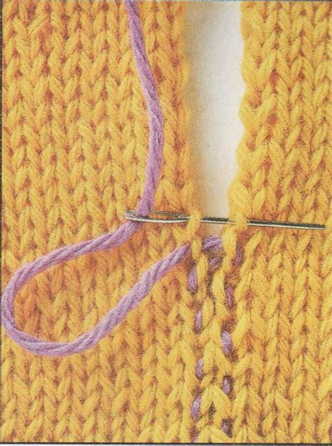 flat knitting stitches seam your knitting how to join your knitting seams