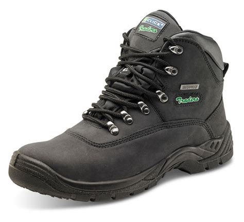 ace hardware safety shoes click traders steel toe cap s3 thinsulate boots black