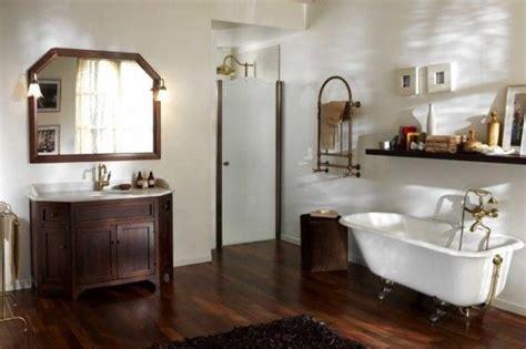 bagni rustici in legno bagni rustici mobili e parquet in legno scuro home