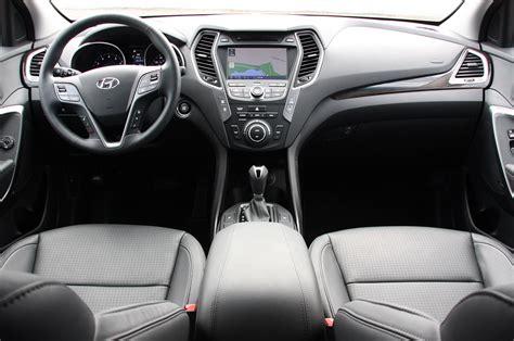 Santa Fe Sport Interior by 2013 Hyundai Santa Fe Sport Drive Photo Gallery