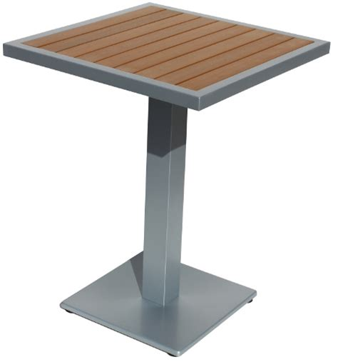 Square Patio Table Square Outdoor Teak Resin Patio Table