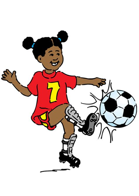 Image Jouer Au Football Dessin 20969
