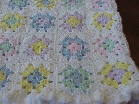 handmade crocheted baby blanket made afghan