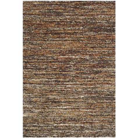 8 X 10 Area Rug Shop Safavieh Retro Andrea Ivory Gold Indoor Distressed Area Rug Common 8 X 10 Actual 8 Ft W