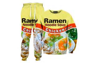 Ramen Activewear Is A Very Practical Fashion Choice   Foodiggity