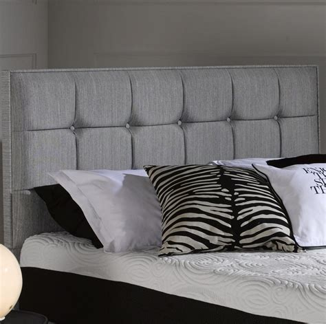 fabric headboards uk buy octaspring castello fabric headboard online furntastic