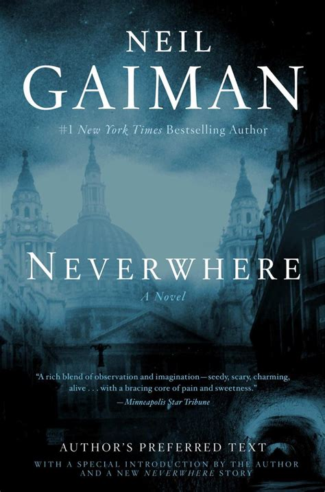 neverwhere authors preferred text 0062476378 quot author s preferred text quot of neil gaiman s neverwhere what do those words mean