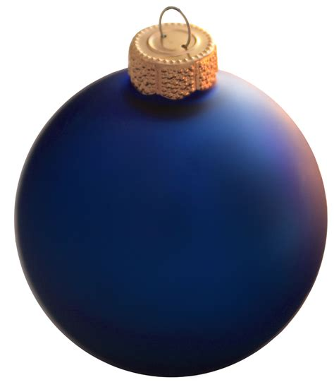 christmas decorations 1 25 quot cobalt blue ball ornament