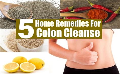 5 home remedies for colon cleanse