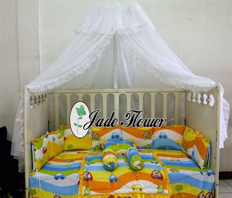 Kasur Bayi Biasa kelambu bayi untuk baby box jade flower baby