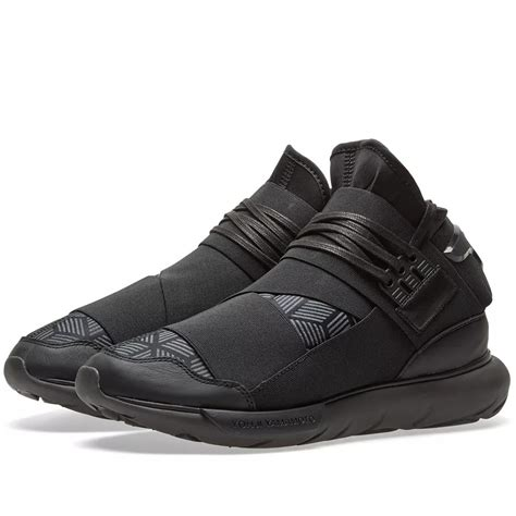 Harga Adidas Y3 Qasa High Original by Tenis Adidas Y3 Qasa High Black Reflective Nuevos