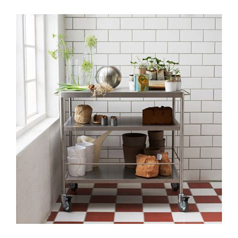 Flytta Kitchen Trolley by Grundtal Kitchen Trolley Nazarm