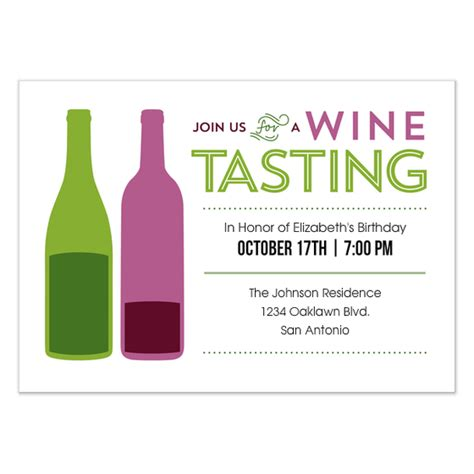 Wine Tasting Party Invitations Cards On Pingg Com Wine Invitation Template Free