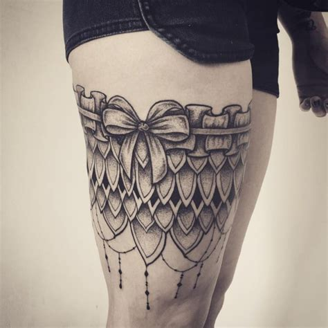 tattoo aftercare on thigh 70 charming garter tattoo designs keep in touch with