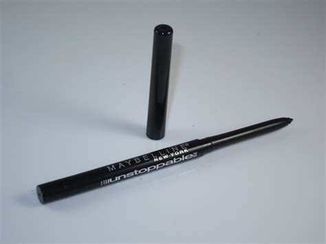 Unstoppable Eyeliner Maybelline maybelline unstoppable eyeliner review swatches