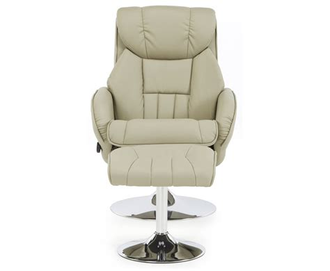 Leather Recliner Chair Uk by Farris Taupe Faux Leather Recliner Chair Just Armchairs