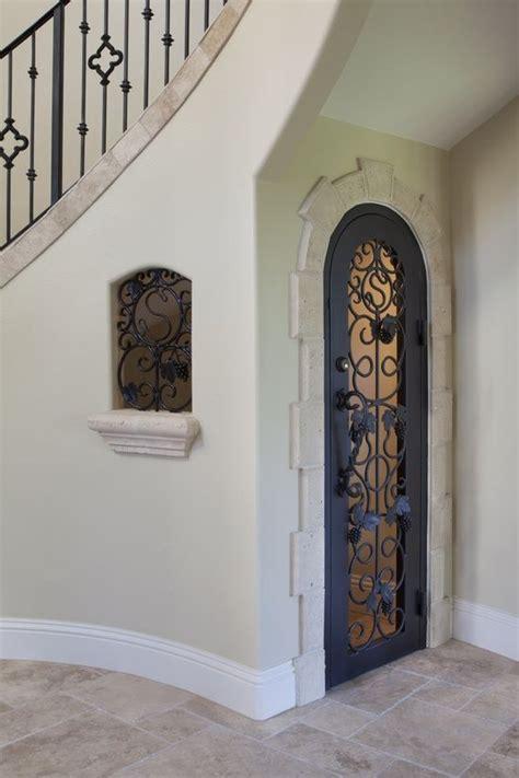 lomonaco s iron concepts home decor tuscan curved stairway las vegas dream home wine cellars pinterest wine