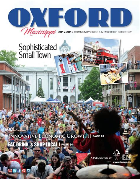 local color oxford ms oxford ms community profile 2017 2018 by town square