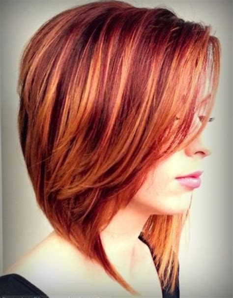 hairstyles cut and color short layered bob hairstyles tumblr hollywood official