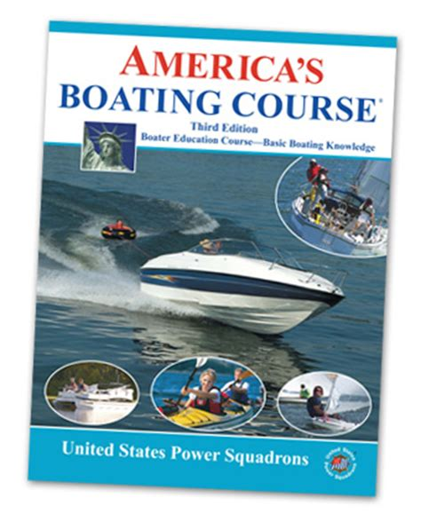 boat safety book boating safety course description america s boating course