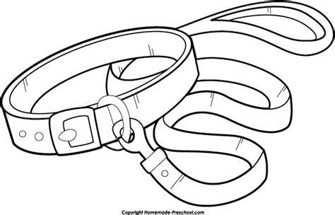 dog collar coloring page clip art black dog collar clipart