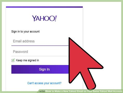 new yahoo email account how to make a new yahoo email on your same yahoo mail
