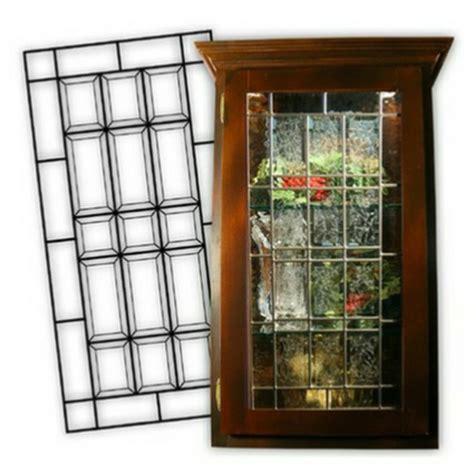 Leaded Glass Cabinet Door Inserts Cabinet Glass Inserts Beveled Glass Cabinet Doors