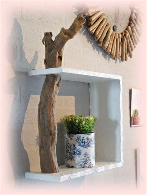 mensole muro mensola da muro con legno di mare per la casa e per te