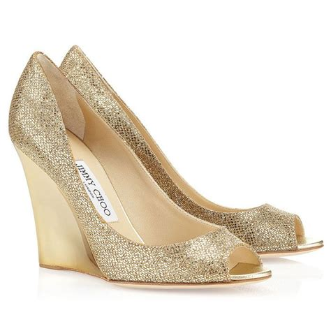 Gold Wedge Wedding Shoes by Discover And Save Creative Ideas