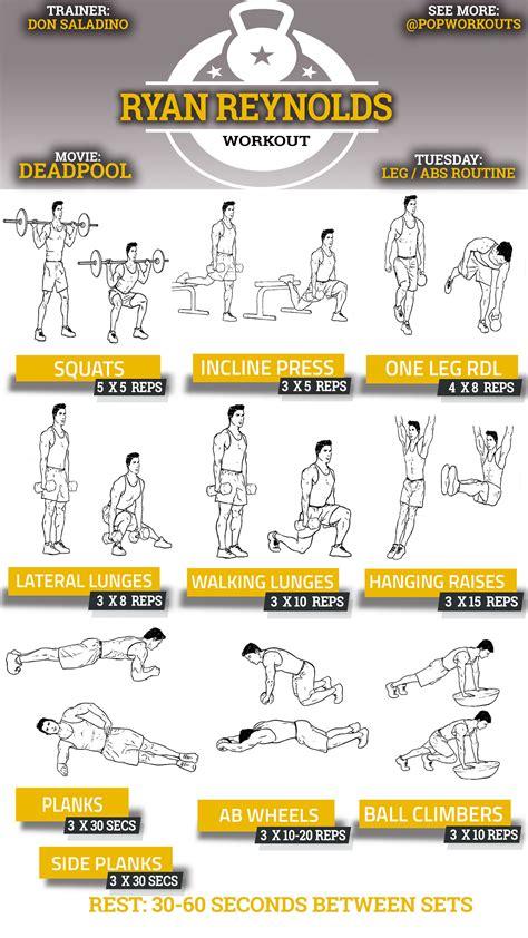 ryan reynolds bench press deadpool workout ryan reynolds pop workouts