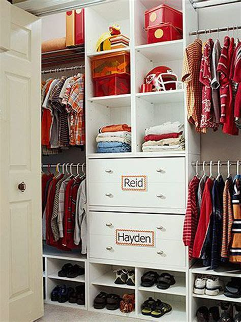 Clothes Closet Organization Ideas by 35 Practical Closet Ideas Home Design And Interior