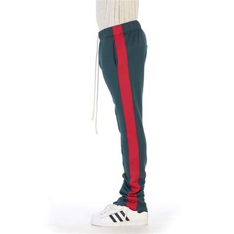 Vip By Lpl Gucci Striped Pans green track