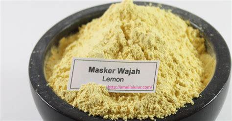 Masker Wajah Garnier Lemon atasi kulit berminyak dengan masker wajah lemon