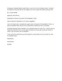 Withdrawal Letter To Immigration Best Photos Of Immigration Hardship Letter Sle