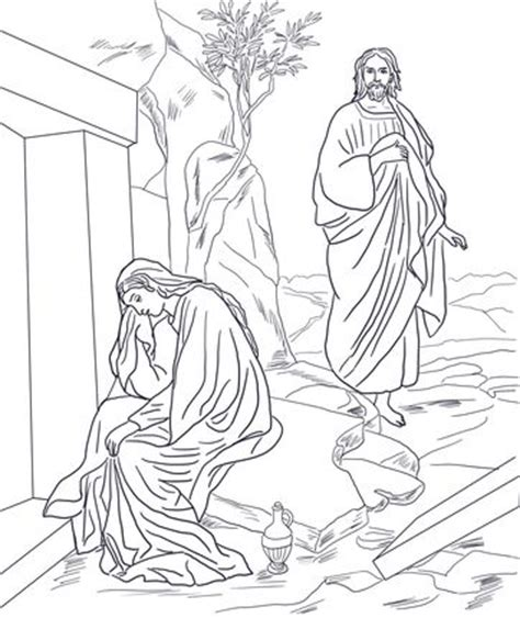 coloring page of jesus appears to his disciples 202 best images about bible story coloring page on