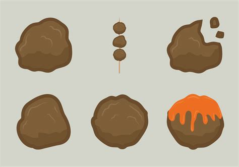 meat ball vector illustration   vector