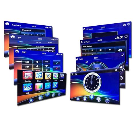 Big Tv Mp4 car dvd digital 6 95 inch touch tft screen fit mp3 mp4 big