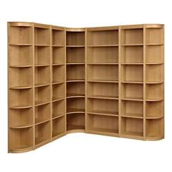 L Shaped Bookshelves Buy Lewis Agatha L Shaped Bookcase Combination Oak