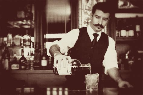 bartender photography speakeasy theme wedding old world bartender onewed com