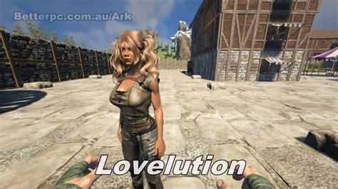 ark hairstyles mod ark survival evolved cute hair showcase youtube