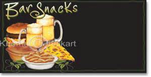 snack bar menu template bar snacks menu board template shop