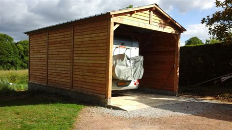 garage garage cing car en bois neuf accessoires