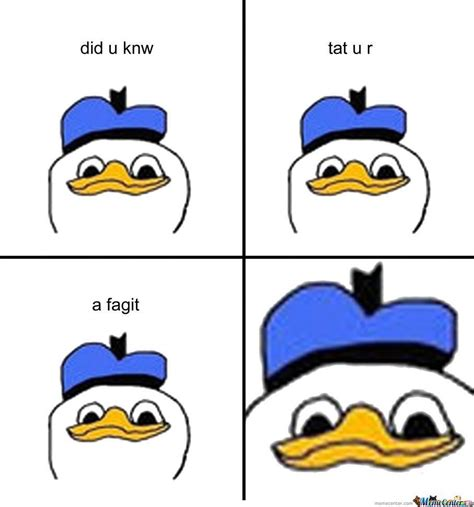 Fak U Meme - dolan sez fak u by booty fucker meme center